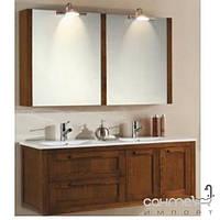 Мебель для ванных комнат и зеркала Gallo Комплект мебели двойной подвесной Gallo Ibis 120P Rovere IB-120P