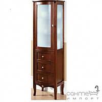 Мебель для ванных комнат и зеркала Gallo Пенал напольный Gallo Gianna Colonna Noce Stracciato