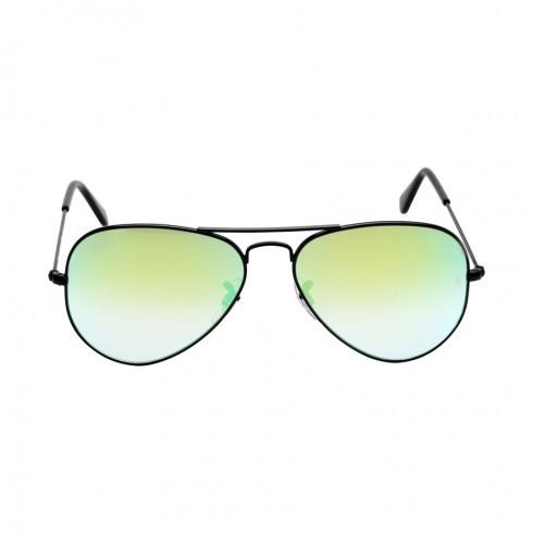 Солнцезащитные очки Ray-Ban Aviator Flash Gradient Green RB3025 002-4J55-14