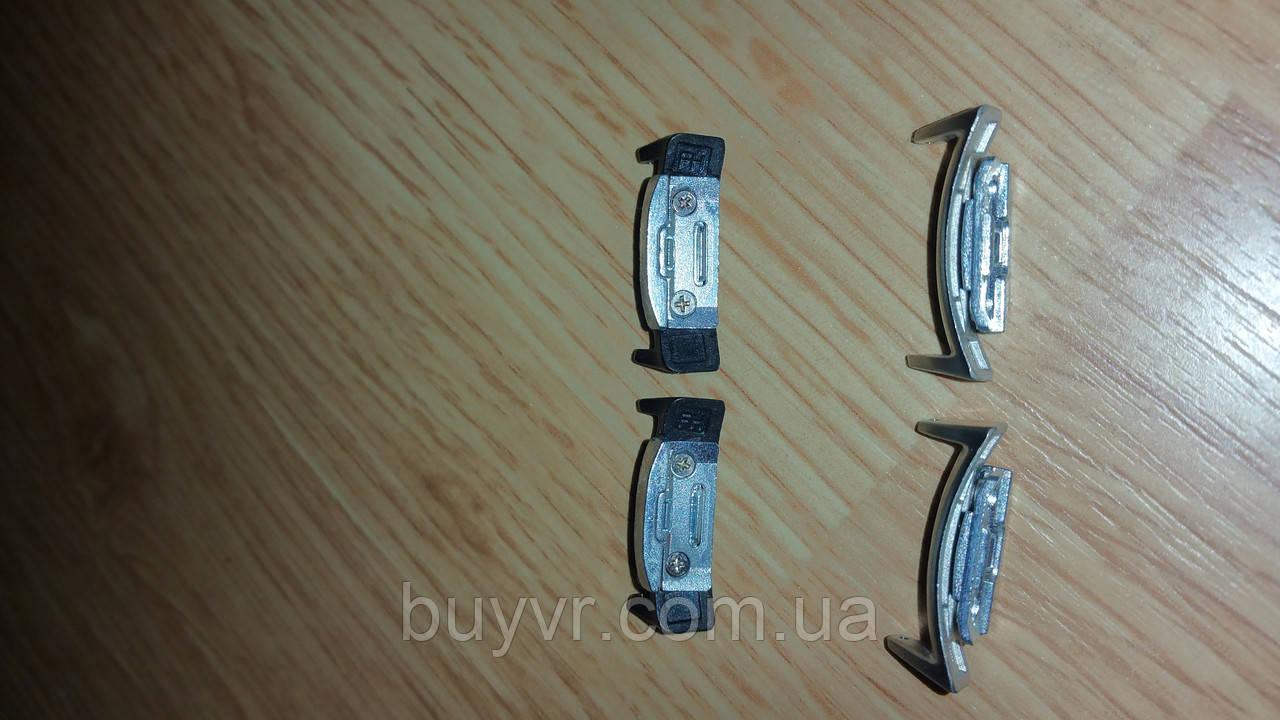 Переходник под обычный ремешок для SAMSUNG GEAR S2 цвет silver
