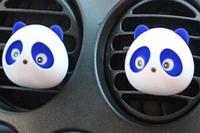 """Автомобильный освежитель воздуха """"Панда"""" Синий 2шт / компл. Ароматизатор в машину """"Морской Бриз"""""""