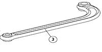 Рычаг изогнутый AN-MOTORS ASW.4003