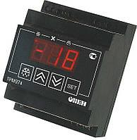 Блок управления средне и низкотемпературными холодильными машинами с автоматической разморозкой ТРМ974