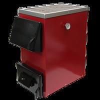 Твердотопливный котел Прометей 25 П (с плитой, 25 кВт)