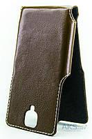 Чехол Status Side Flip Series OnePlus 3 Brown