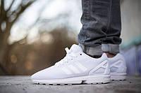 Кроссовки женские Adidas ZX Flux White