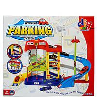 Паркинг с эстакадой