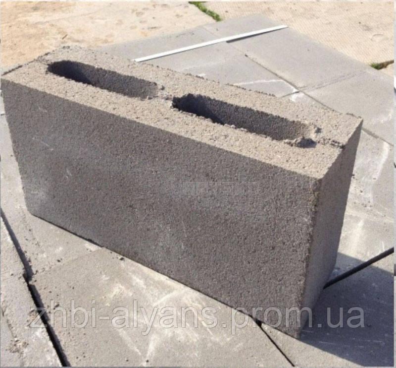 Блок бетонный перегородочный