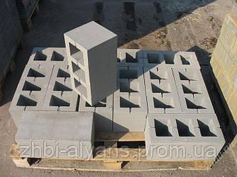 Блок бетонный перегородочный и стеновой