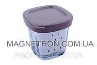 Баночка (стаканчик) с крышечкой для йогуртницы Tefal SS-193386 (код:03813)