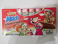 Шоколад Milch Schokoriegel 100г с малиново-йогуртовой начинкой , фото 1