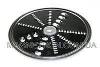 Диск-терка крупная/мелкая для кухонных комбайнов Braun 63210633 (код:08521)