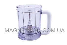 Чаша блендера 750ml для кухонных комбайнов Braun 7322010214 (67051169) (code: 01209)