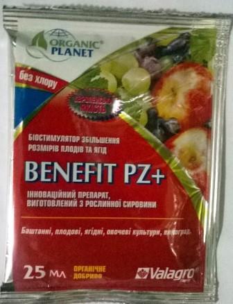 Добриво Бенефіт+ (Benefit PZ+)  25мл