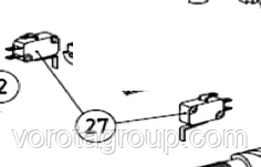 Выключатель AN-MOTORS ASW.5027 - Ворота Груп - Все для Ворот и Автоматики в Харькове