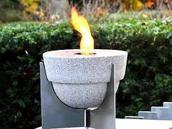 Садовый факел L Granicuum с крышкой (круглый)