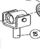 Гайка ходовая AN-MOTORS ASW.5015