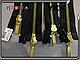 YKK металл золото №5 2бег 100cm,130cm, фото 2