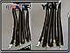 YKK металл золото №5 2бег 100cm,130cm, фото 5