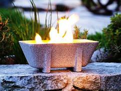 Садовый факел XL Granicuum с крышкой (прямоугольный)