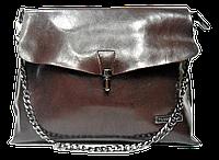 Женская сумка из натуральной кожи Forstmann на плечо коричневого цвета IGF-017551