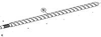Винт ходовой AN-MOTORS ASW.5013