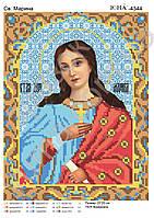 """Схема для вышивки бисером """"именная икона Св. Марина"""""""