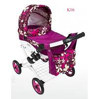 Коляска для кукол Adbor Lily K-16