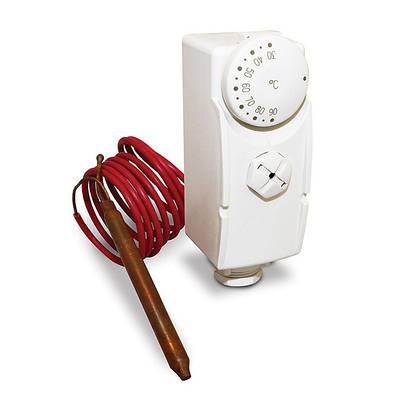 Електронні терморегулятори, термометри і датчики
