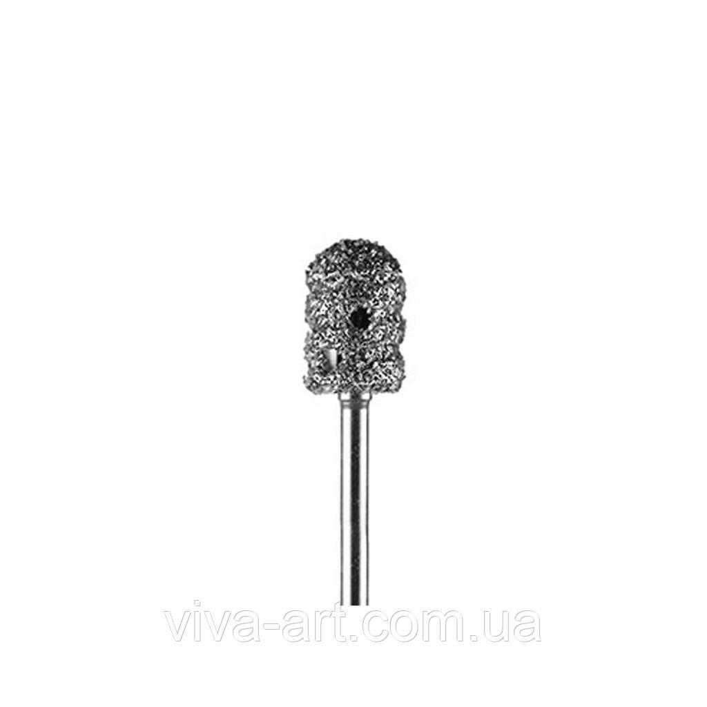 Алмазная насадка в форме чашки для педикюра 8 мм (грубый абразив)