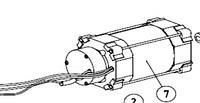 Электродвигатель с катушкой тормоза электромагнитного AN-MOTORS ASW.5007