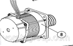 Електродвигун з черв'яком AN-MOTORS ASW.4008