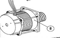 Электродвигатель с червяком AN-MOTORS ASW.4008
