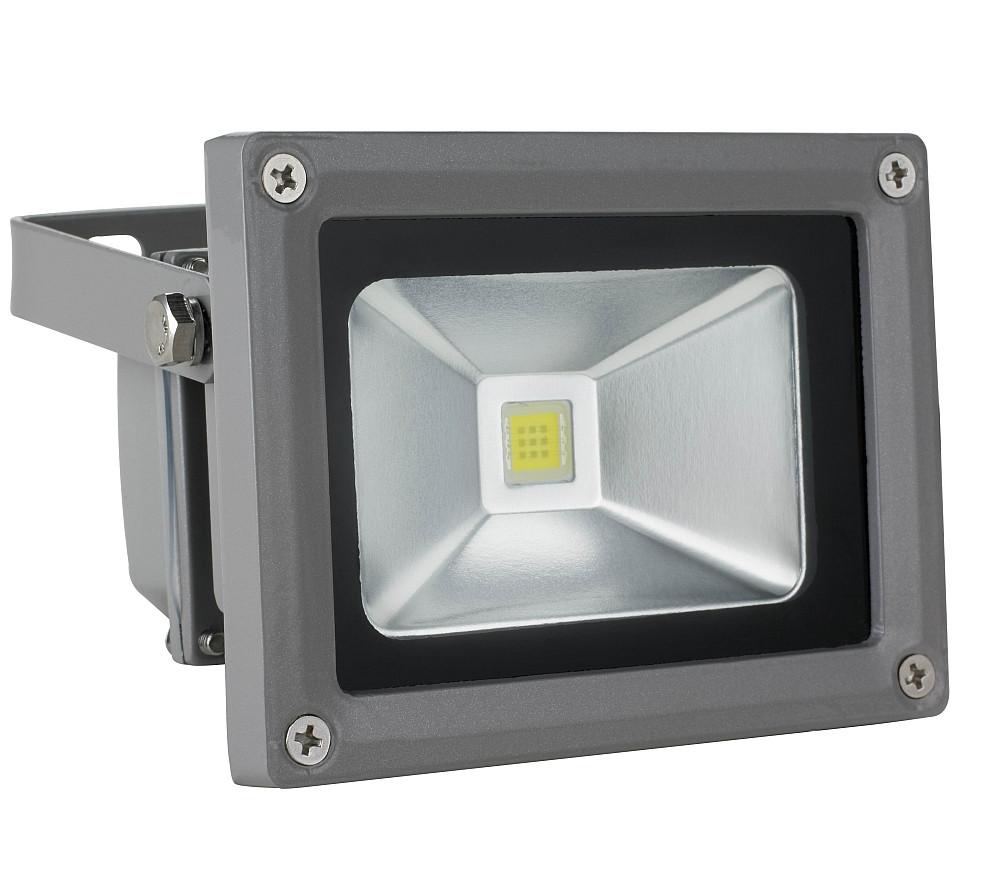 Прожектор RIGHT HAUSEN 10W 6500К IP65 серый (HN-1911012)