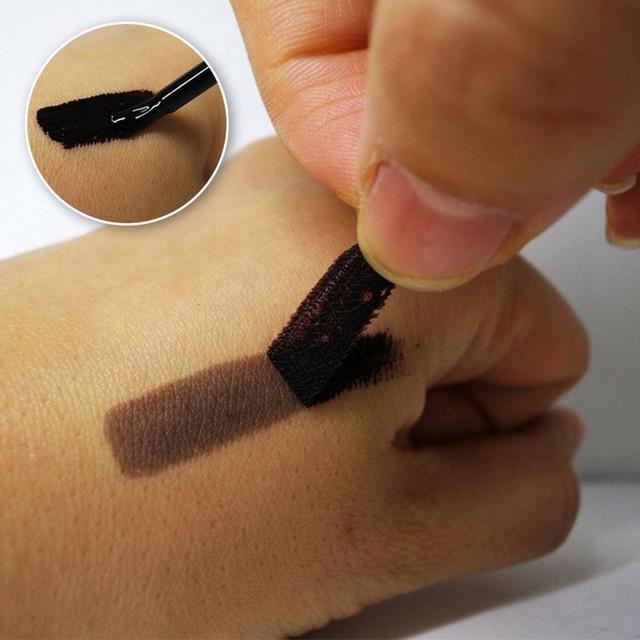 Временный татуаж бровей (тинт) коричневый