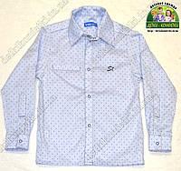 Рубашка для мальчика с длинным рукавом Штрихи