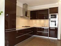 Крашеное стекло Lacobel Dark Brown RAL8017 ST