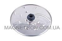 Двухсторонний диск для толстой нарезки / крупной терки для кухонного комбайна Kenwood KW715022 (код:06823)