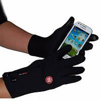 Перчатки с сенсором для смартфона.
