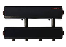 Коллектор стальной в кожухе с креплением К22Н.125.(200) СК-242.125 (выход вниз)