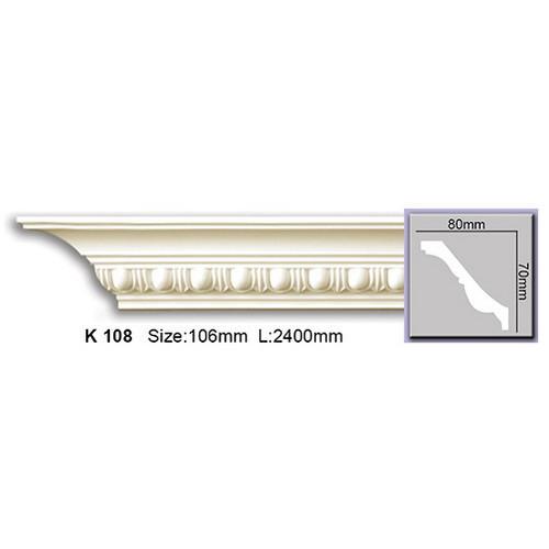 Карниз гнучкий K108F Harmony (70x80)мм