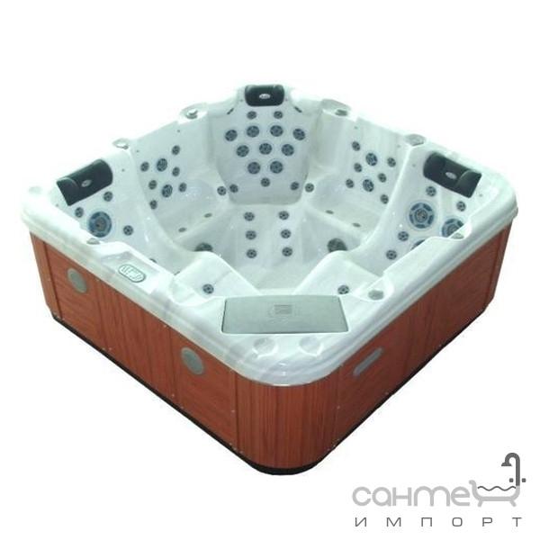 Бассейны, СПА Vagnerplast Бассейн Vagnerplast Premium VP7550G Silver Marble + крышка