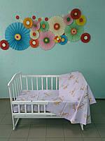 Детское постельное белье с одеялом и подушкой
