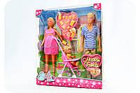 Кукольный набор Штеффи «Счастливая семья» 5733200