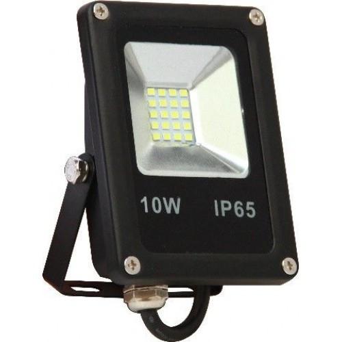 Прожектор светодиодный Евросвет 10Вт оранж.