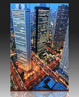Ширма Великая восточная столица. Токио, Япония.
