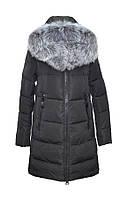 Женское пальто на холлофайбере DASER S (42-44), Черный