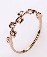 Кольцо золотое женское 11384