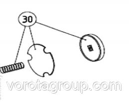 Комплект дисков тормоза AN-MOTORS ASW.5030