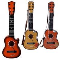 Гитара детская струнная, в ассортименте 3 вида, 180A3-5-7